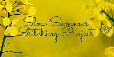 Slow Stitch Project for Season for Change & Climate Change tickets
