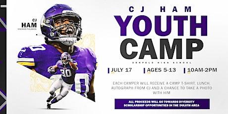 2021 C.J. Ham Youth Football Camp - AM tickets