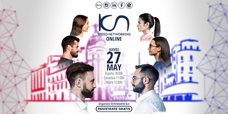 KCN Madrid Sur Speed Networking Online 27May entradas