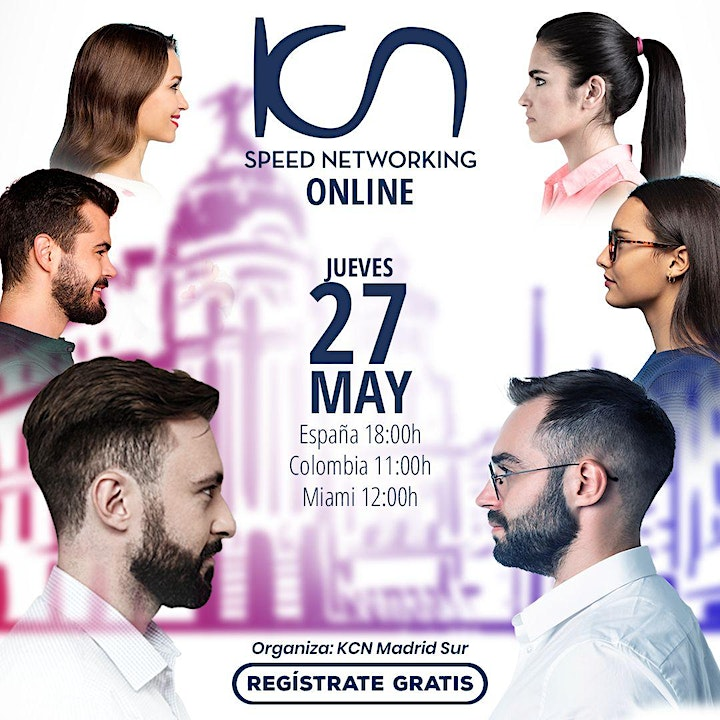 Imagen de KCN Madrid Sur Speed Networking Online 27May