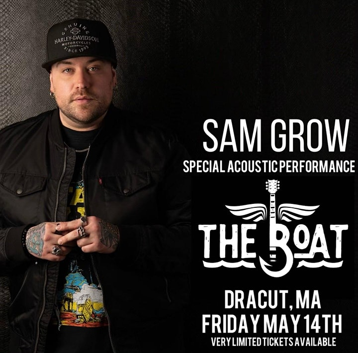 Sam Grow - Acoustic @ The Boat! image
