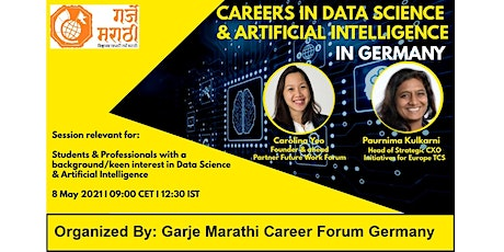Careers in Data Science and Artificial Intelligence in Germany tickets