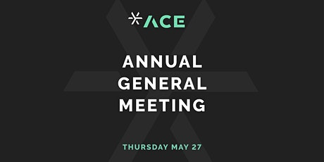 ACE Annual General Meeting tickets