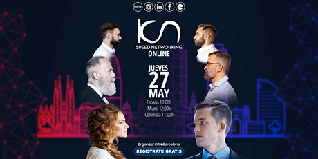 KCN Barcelona Speed Networking Online 27May entradas
