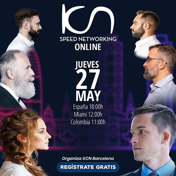 Imagen de KCN Barcelona Speed Networking Online 27May
