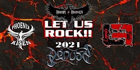 Let Us Rock 2021 $15 @Door tickets