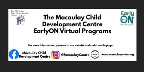 Macaulay Child Development Centre: EarlyOn: Songs & Crafts tickets