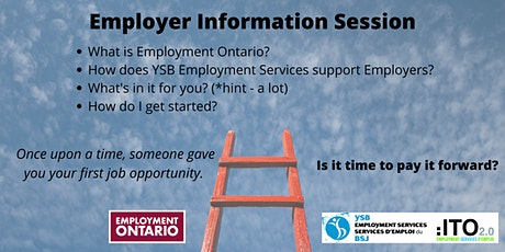 Employer Information Session tickets