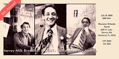 Harvey Milk Breakfast & LGBT+ Center Diversity Awards tickets