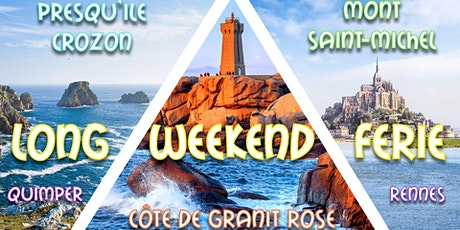 Long weekend férié Mont St-Michel, Côte de Granit Rose & Quimper 2021 billets