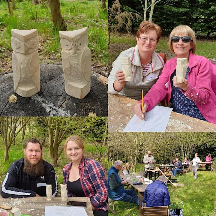 Owl Carving Workshop image