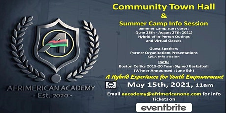 Afrimerican Academy  - Community Townhall & Summer Camp Info Session tickets