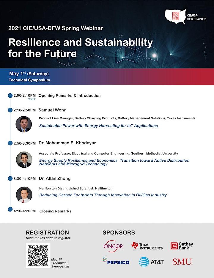 Webinar: CIE/USA-DFW 2021 Spring Technical Symposium image