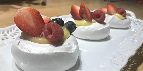 Virtual Baking Workshop: Mini Pavlovas tickets