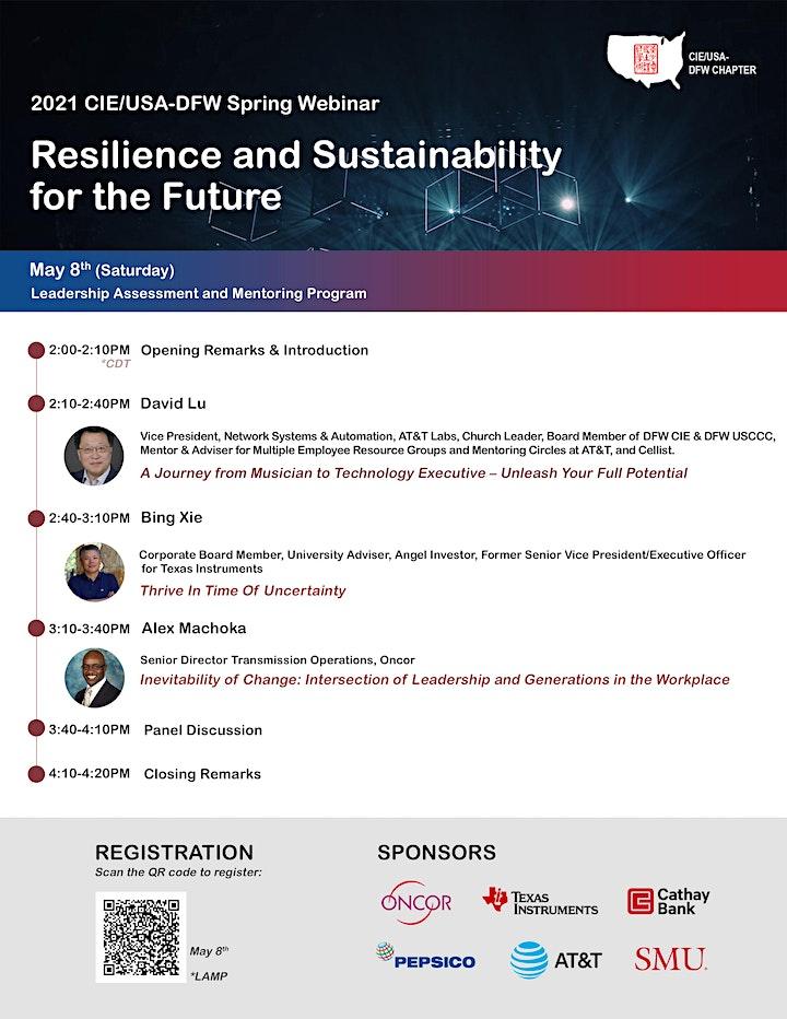 Webinar: CIE/USA-DFW 2021 Spring LAMP Symposium image