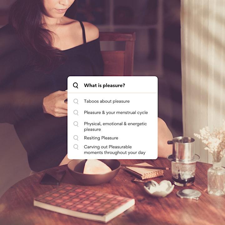 Create an Appetite for Pleasure - free talk image