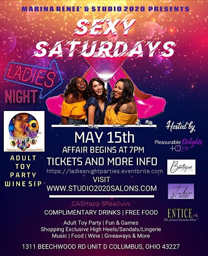 """Ladies Night """"Sexy Saturdays"""" image"""