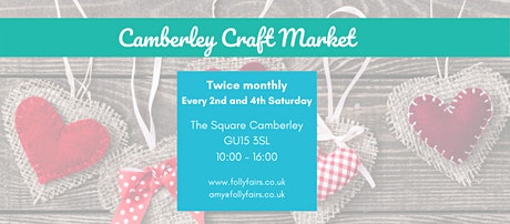 Camberley Craft Market tickets