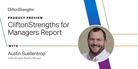 Called to Coach – Product Preview: CliftonStrengths for Managers Report tickets
