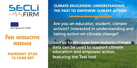Climate Education: Understanding the past to empower climate action Tickets