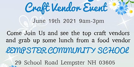 Lempster Wildcat PTSA Craft Fair tickets