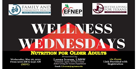 Nutrition for Older Adults tickets