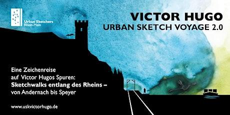 Victor Hugo Urban Sketch Voyage 2.0 | Sketchwalk in Lorch Tickets