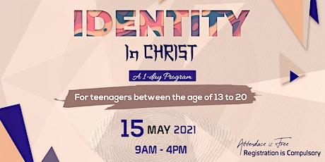 IDENTITY IN CHRIST tickets
