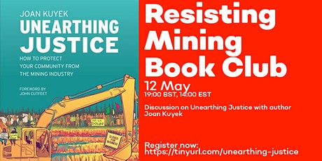Resisting Mining Book Club: Unearthing Justice w/ Joan Kuyek tickets