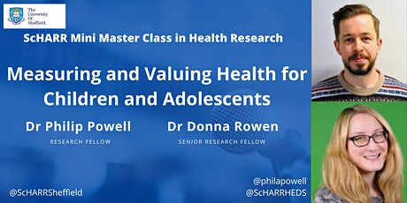 Measuring and Valuing Health for Children and Adolescents tickets