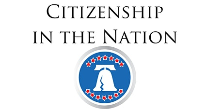 Citizenship in the Nation Badge Online tickets