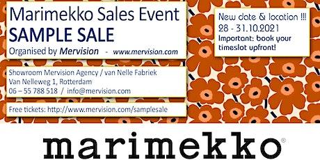 Marimekko Sample Sale tickets