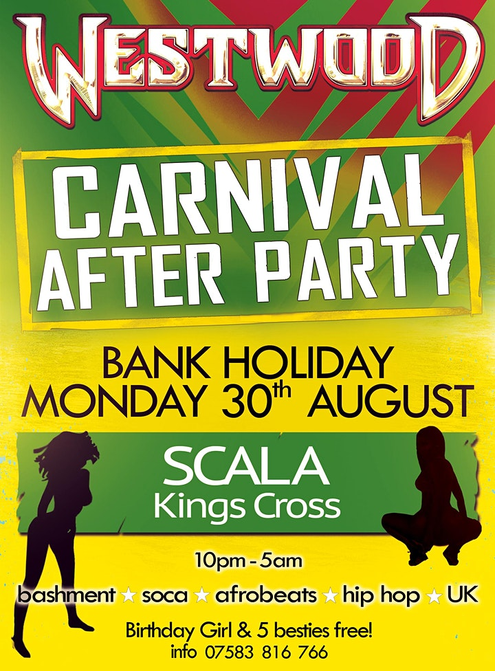 Westwood Carnival After Party image