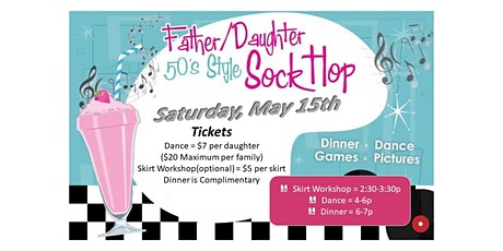 Father/Daughter Sock Hop tickets