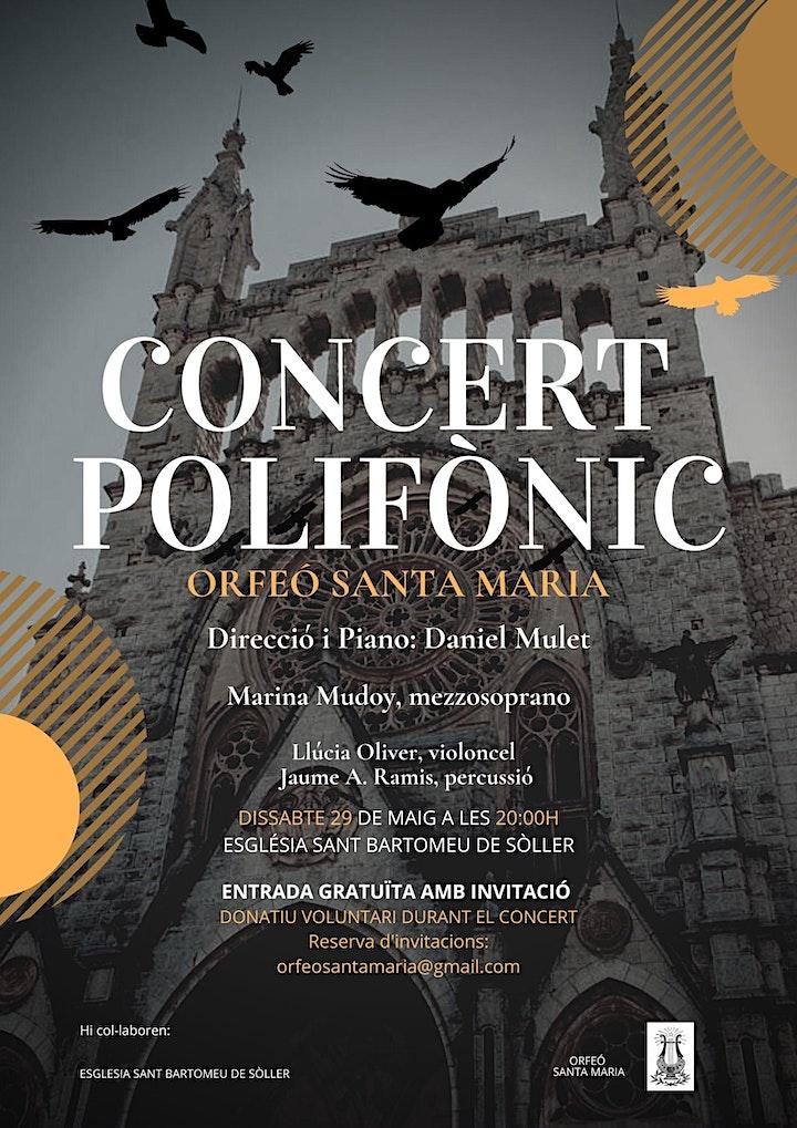Imagen de CONCERT POLIFÒNIC ORFEÓ SANTA MARIA