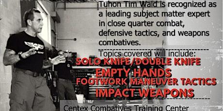 Tuhon Tim Waid Seminar tickets