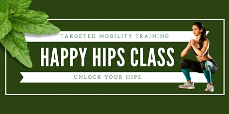 Happy Hips Mobility Class tickets