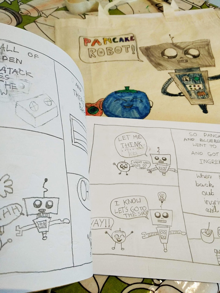Comic Book Art Summer Camp image