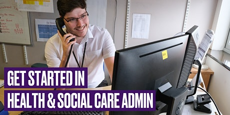 Get Started in Health and Social Care Admin with NHS Professionals tickets