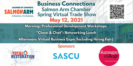 Business Connections: Salmon Arm Chamber Spring Virtual Trade Show tickets