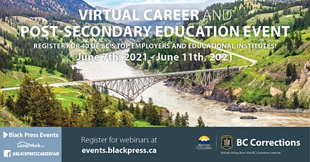 Northern BC Virtual Career & Post-Secondary Education Event tickets