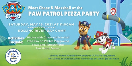 Paw Patrol Pizza Party tickets