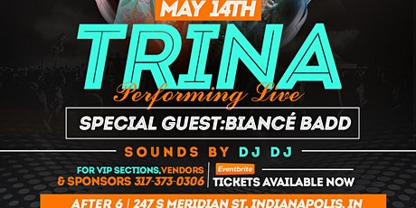 Trina Performing Live Special Guest Biance' Badd tickets