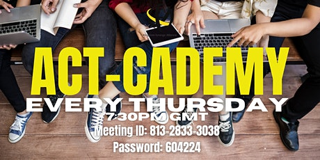 Act- CADEMY tickets