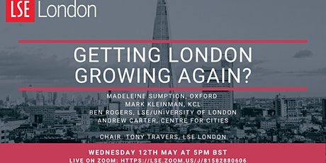 Getting London Growing Again tickets