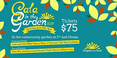 Neighbor in Need Gala in the Garden 2021 tickets