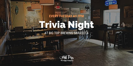 Trivia Night at Big Top Brewing tickets