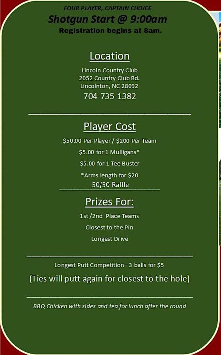 Freedom House (PORT Program) Benefit Golf Tournament image
