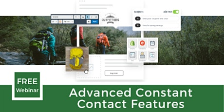 Advanced Constant Contact Features tickets