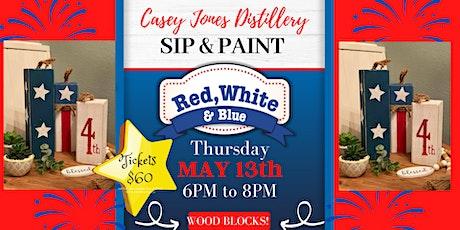 Casey Jones Patriotic Sip & Paint tickets